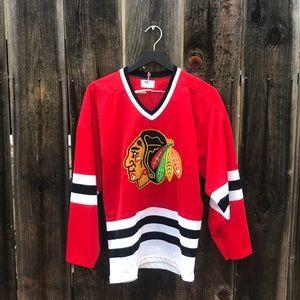 Vintage Chicago Blackhawks Jersey